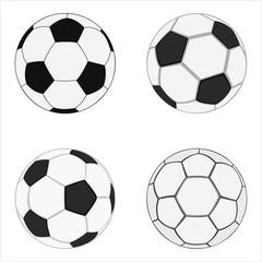 realistic soccer balls