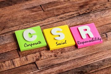 post-it acronyme : csr