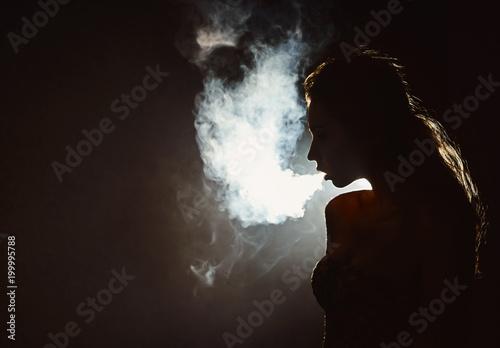 Smoking profile pics