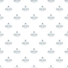 Pizza delivery pattern vector seamless
