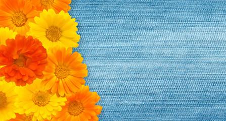 Beautiful Floral Vintage background