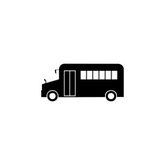 school bus icon. Element of car type icon. Premium quality graphic design icon. Signs and symbols collection icon for websites, web design, mobile app