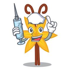 Nurse vanilla character cartoon style