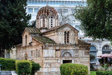 Eleftherios Church in Athens - Plaka district