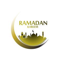 ramadan kareem label, ramadan has mean muslim event