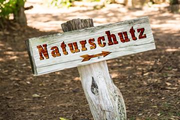 Schild 263 - Naturschutz