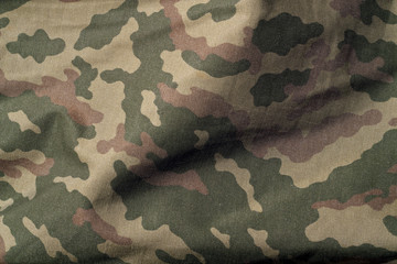 Military uniform pattern.