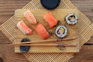 Sushi. This dish is one of the most recognized of Japanese cuisine and one of the most popular internationally