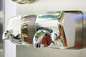 Dryers for hands in store