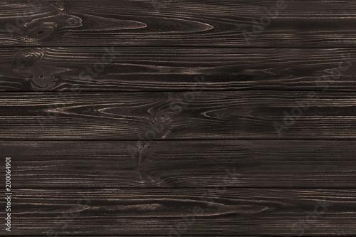 SEAMLESS Dark Brown Wooden Old Planks Background Wood Texture