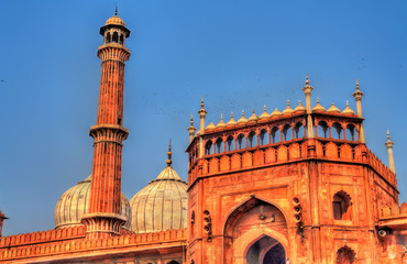 Jama Masjid, the main mosque of Delhi, India