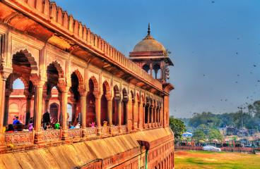 Jama Masjid, the main mosque of Delhi, India