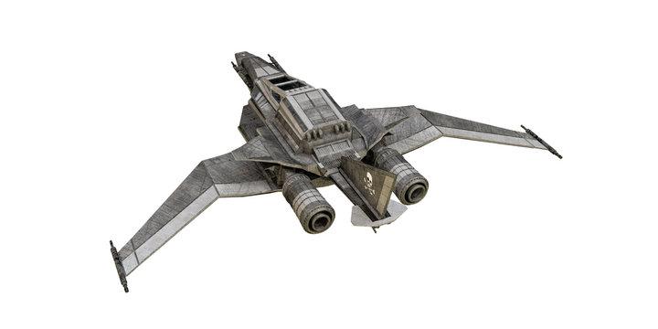 spaceship fighter
