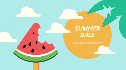 Wassermelone - Sommer Sale