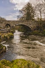 The Bridge over the River Teify, Cenarth, Wales, UK