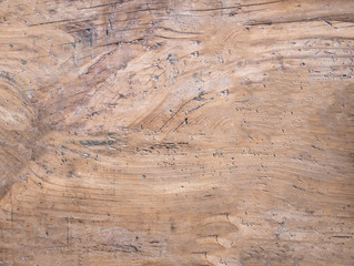 Light Brown soft wood surface as background, wooden textured table