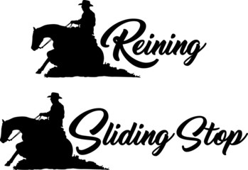 Sliding Stop & Reining - Quarter Horse
