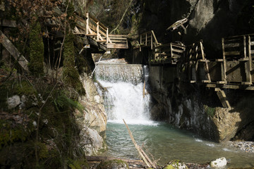 Waterfall in Bavaria