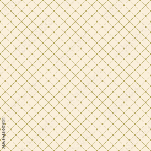 Geometric vector grid  Seamless fine abstract pattern