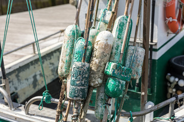 Flotteurs pour filet de pêche