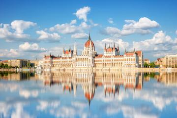 Fotobehang Boedapest Budapest, Parlament, Ungarn