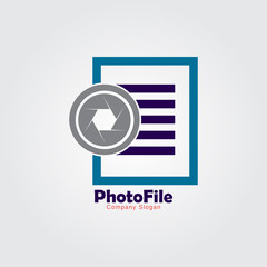 Photo file logo