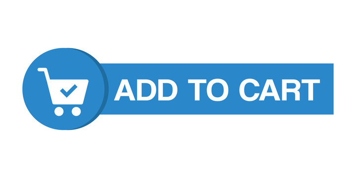 Add to cart web button online shopping .