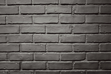 vintage retro black bricks block cement background texture for deign and decorate