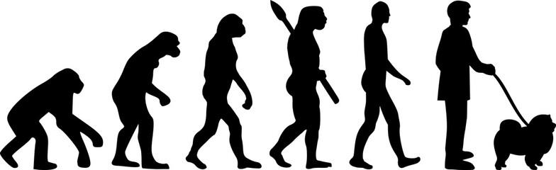 Chow-chow evolution