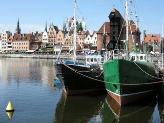 Gdansk, Hafen