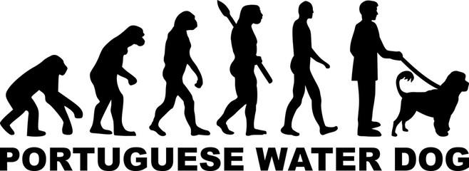 Portuguese water dog evolution word