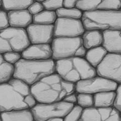 Tekstura bezszwowa - kamienie