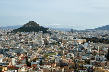 View from Acropolis. Athens