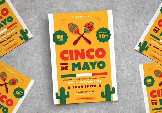 Cinco De Mayo Flyer 2