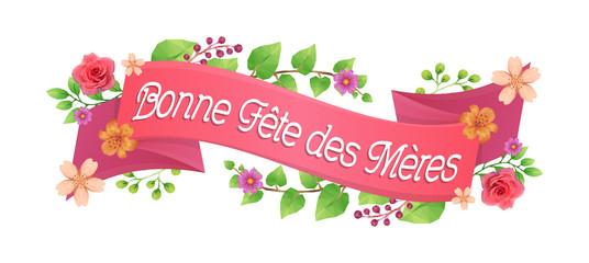 Bandeau Bonne Fête des Mères