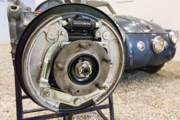 Drum brake detail.