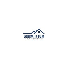 real estate business company logo template