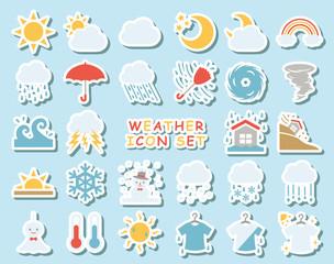 天気のアイコンセット