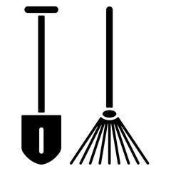 Icon - Gartengeräte