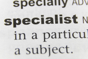The Word Specialist Close Up