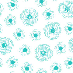 Hand drawn vector pattern