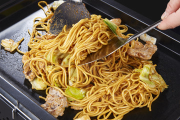 やきそば Yakisoba (stir-fried soba noodles)