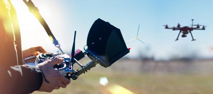 Dron remote controller
