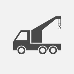 wrecker vector icon truck