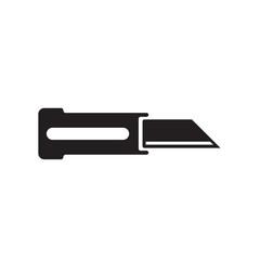 knife icon isolated on white background