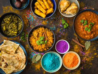 Indian Holi food