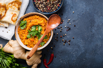 Traditional Indian lentils Dal