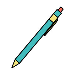 color pen tool ink to study writing