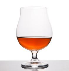 Glass vine with cognac
