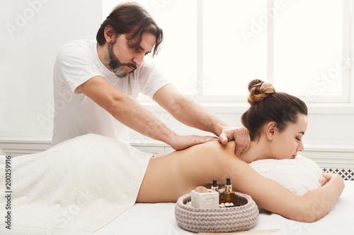 Girl Body Massage